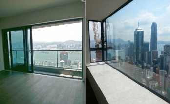 Urban Properties to sale Mid Level West Hong Kong Sea View Balcony